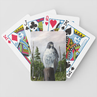 Red Tail Hawk Bycycle Playing Cards