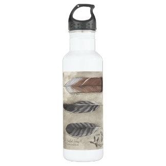 Red Tail Hawk water bottle