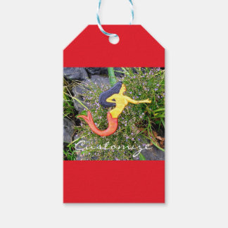 red-tail sirena mermaid pack of gift tags