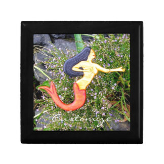 red-tail sirena mermaid trinket boxes