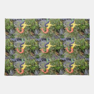 red-tail sirena mermaids towels