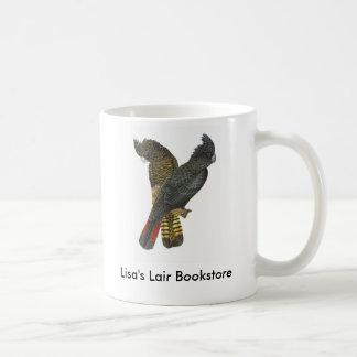 Red-tailed Black Cockatoo Pair Bookstore Promo Coffee Mug