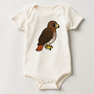 Red-tailed Hawk Baby Bodysuit