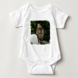 Red tailed Hawk Baby Bodysuit