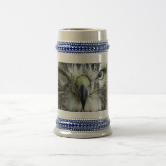 Red-tailed Hawk Beer Stein