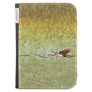 Red Tailed Hawk Bird Raptor Wildlife Animals Kindle Case