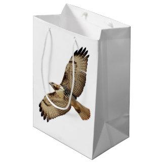 Red Tailed Hawk Bird Wildlife Animal Gift Bag