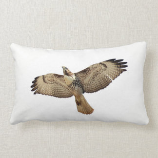 Red Tailed Hawk Bird Wildlife Animal Throw Pillow