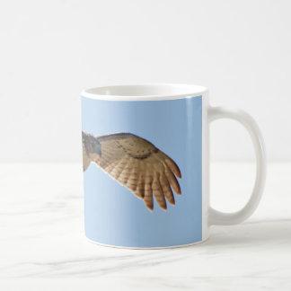 Red Tailed Hawk in flight Coffee Mug