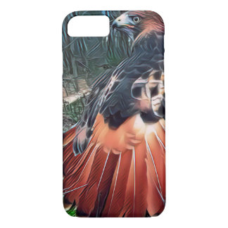 Red-tailed Hawk iPhone 8/7 Case
