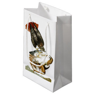 Red-tailed Hawk John James Audubon Birds America Small Gift Bag