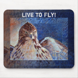 Red Tailed Hawk Mouse Pad