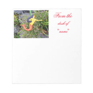 red-tailed sirena mermaid notepad