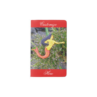 red-tailed sirena mermaid pocket moleskine notebook