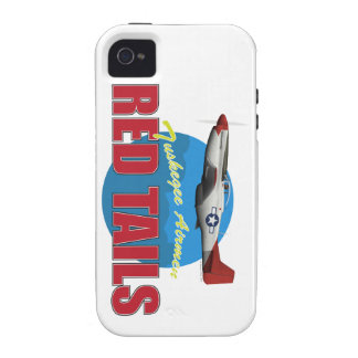 Red Tails Tuskegee Airmen Case-Mate iPhone 4 Covers