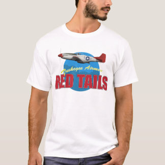 Red Tails Tuskegee Airmen T-Shirt
