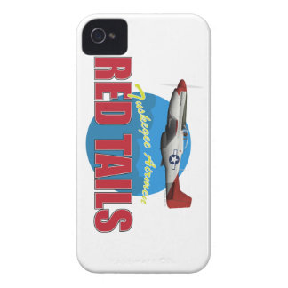 Red Tails Tuskegee Airmen with P-51 iPhone4 Case