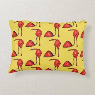 Red Tango Shoe Pillow