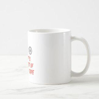 Red Tape Basic White Mug