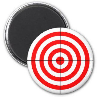 Red Target Magnet