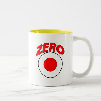 Red Target Two-Tone Coffee Mug