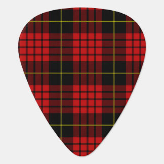 Red Tartan Guitar Picks Guitar Pick