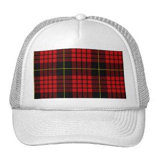 Red Tartan Trucker Hat