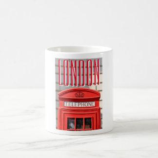 Red telephone boot in London Coffee Mug