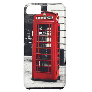 Red Telephone Booth iPhone 5C Cover