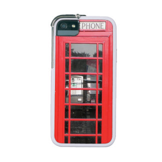 red telephone booth iphone case iPhone 5 covers