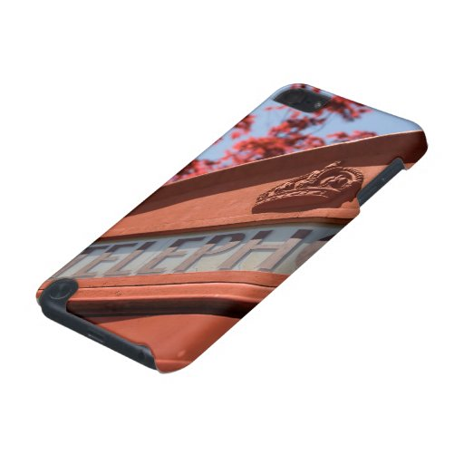 Red telephone box iPod touch 5G cases