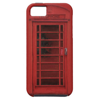 Red telephone box iPhone 5 cover