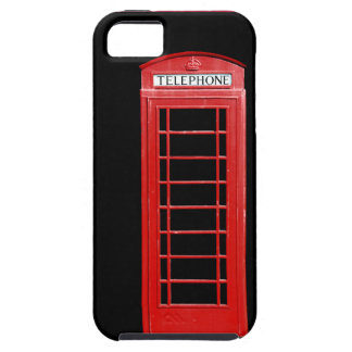 Red Telephone Box iPhone Case iPhone 5 Cases