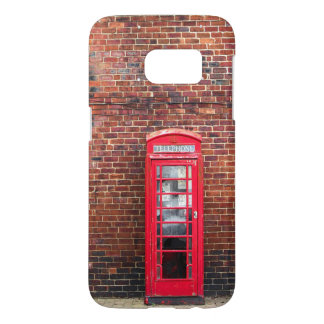 Red Telephone Box Samsung Galaxy S7 Case