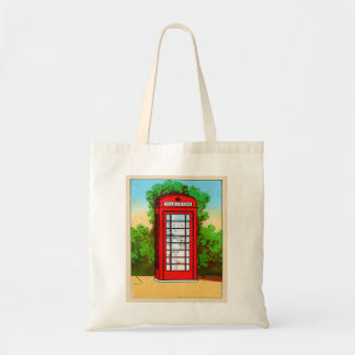 Red Telephone Box UK Vintage Kitsch
