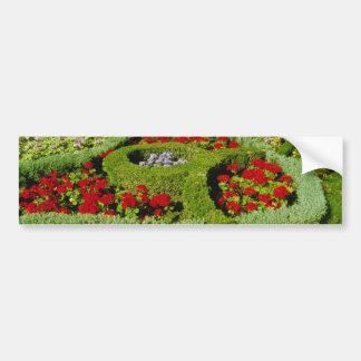 Red The Knot Garden, New Place, Stratford-on-Avon, Bumper Sticker