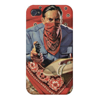 Red Thief iPhone Speck Case Cover For iPhone 4