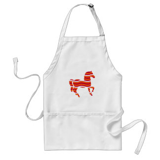 Red Thoroughbred Standard Apron
