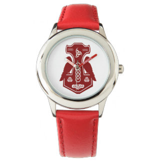 Red Thor's Hammer Watch