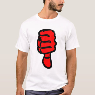 Red Thumbs Down T-Shirt