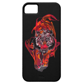 Red Tiger iPhone 5 Case