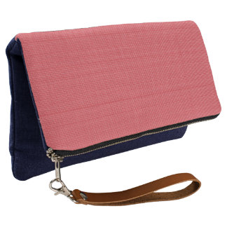 Red-Tiny-Check-Plaid(c) Multi-Choices Clutch