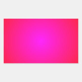 Red to Magenta Gradient Sticker