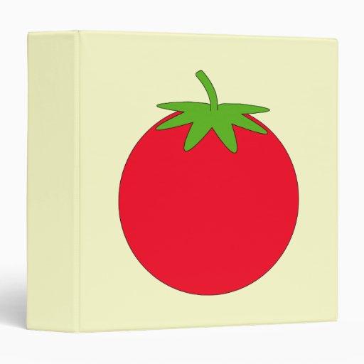 Red Tomato. Vinyl Binder