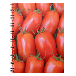 red tomatoes note books