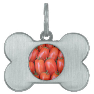 red tomatoes pet name tags