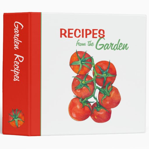 Red Tomatoes Recipe Binder