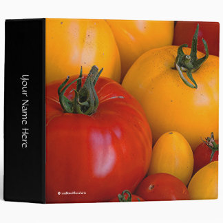 Red Tomatoes, Yellow Tomatoes Binders