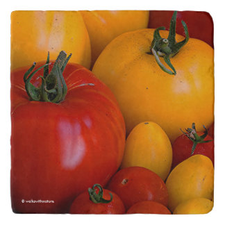 Red Tomatoes, Yellow Tomatoes Trivet