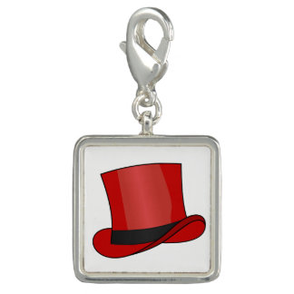 Red Top Hat Charm